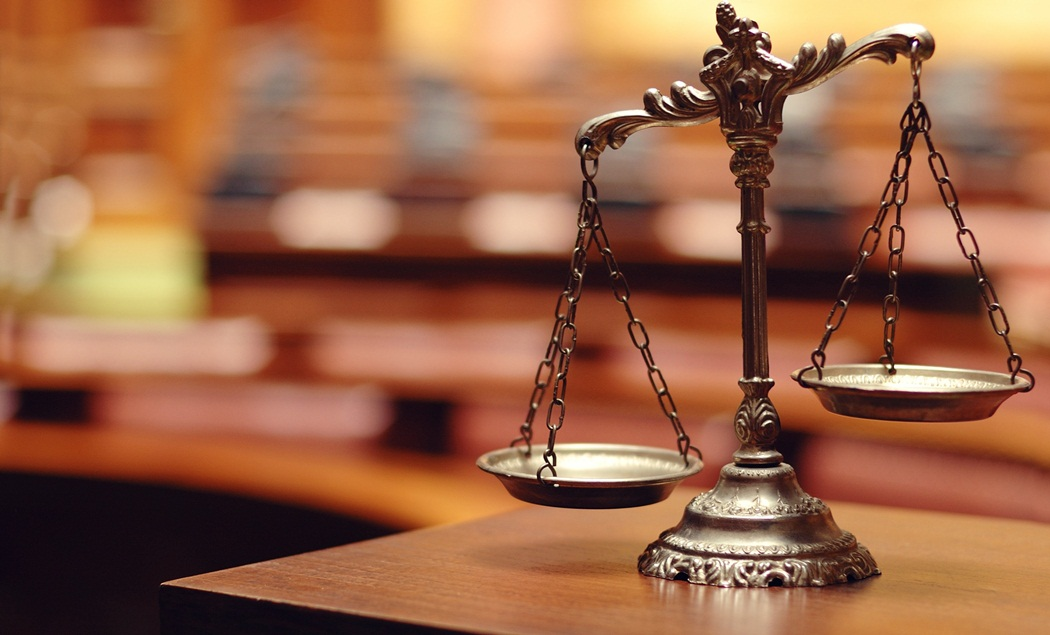 Illustration de la balance de la justice